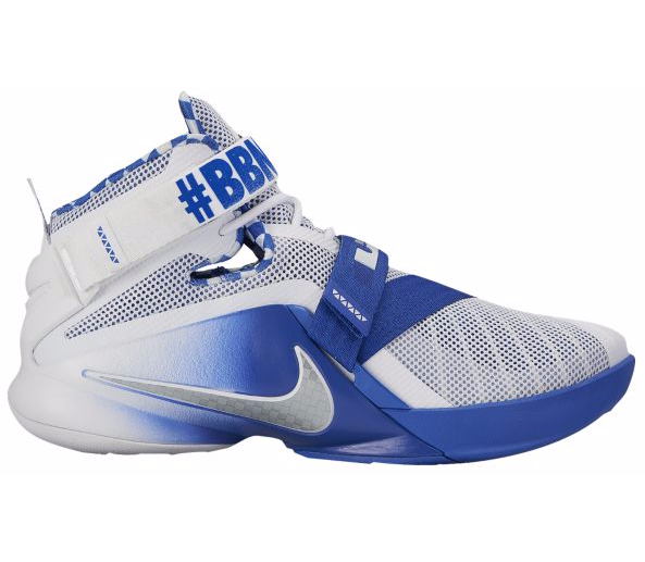Two Nike Lebron Soldier 9 PE Colorways