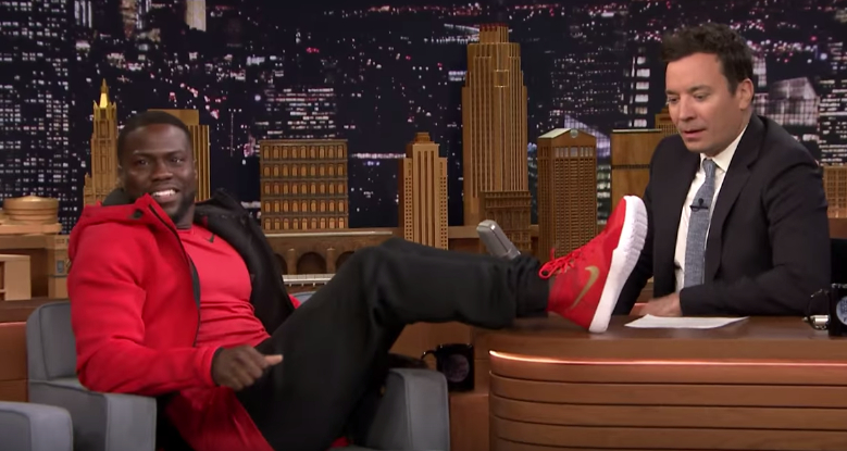 What Shoes Does Kevin Hart Wear