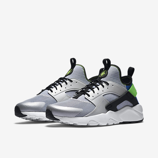 green nike huarache mens
