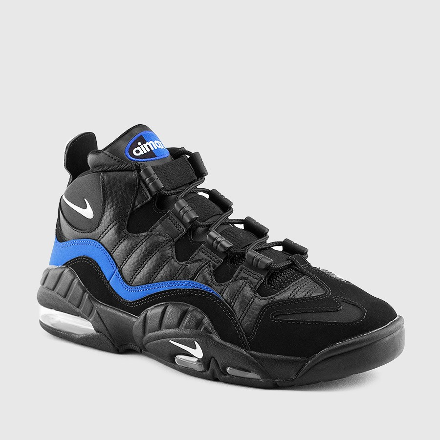 The Nike Air Max Sensation in Black Royal is Available Now