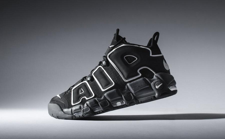 new arrival e8b24 39c01 Big Discount Nike Air More Uptempo Scottie Pippen Black White