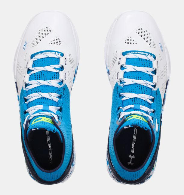 Under Armour Curry 2 'Haight Street top view