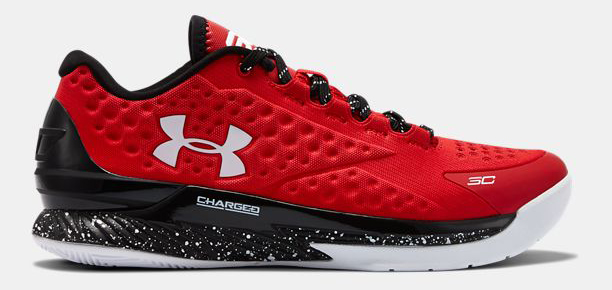 Under Armour Curry One Low Red 1