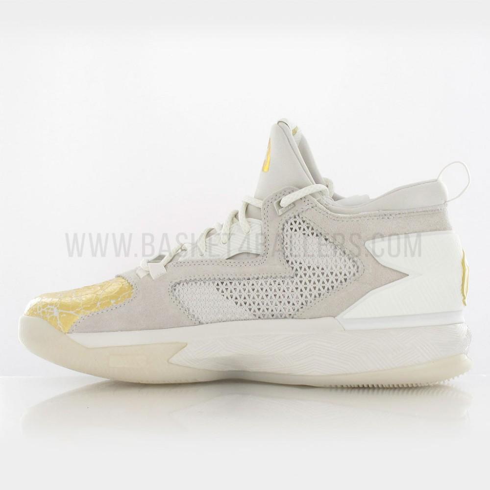 super popular 9dbff 8f77c ... adidas D Lillard 2 BHM 4 ... adidas damian lillard gold ...