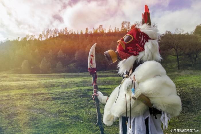 Princess Mononoke Asics Gel Lyte III 4