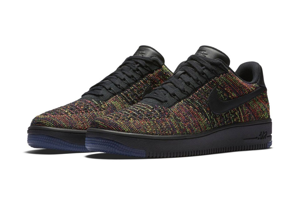 the best attitude b70a6 44105 Nike Air Force 1 Low Flyknit - Available Now in Five ...