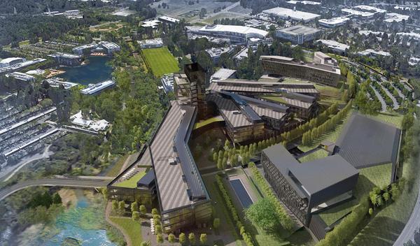 nike world headquarters expansion design 1