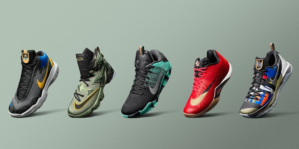 The 2016 Nike Basketball All Star Collection is Available