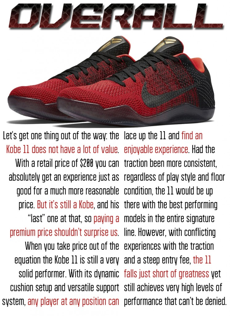 TRACTION: The Kobe signature line is home to the greatest traction setup of all  time; that being the setup used in the Kobe 9, but the question is: does  the ...