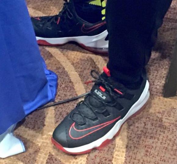 the latest f4eff 94e78 LeBron James Wears Nike LeBron 13 Low in Toronto - WearTesters