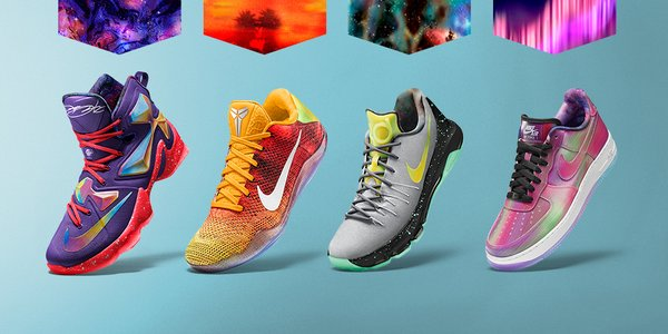 Draw Eyes with the NikeiD Stars of the Vault Collection