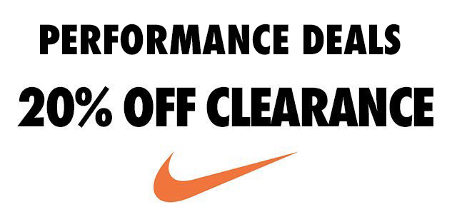 PERFORMANCE DEALS NIKE CLEARANCE