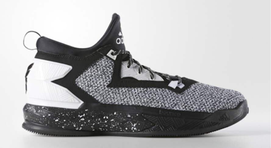 Another Look at the adidas D Lillard 2 in Black/ White