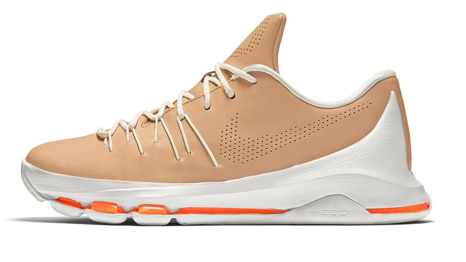 buy popular a1bb4 e247f Premium Leather Makes Up the Nike KD 8 EXT 'Vachetta Tan ...