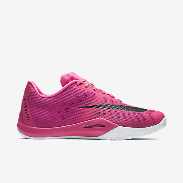 new concept 40a68 285a5 ... You can now Think Pink with the Nike Hyperlive 1 .