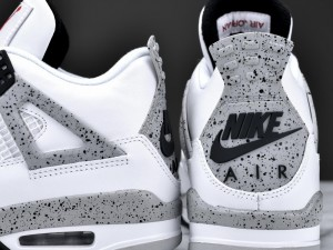 Your Best Look Yet at the Remastered Air Jordan 4 Retro in White: Cement 6
