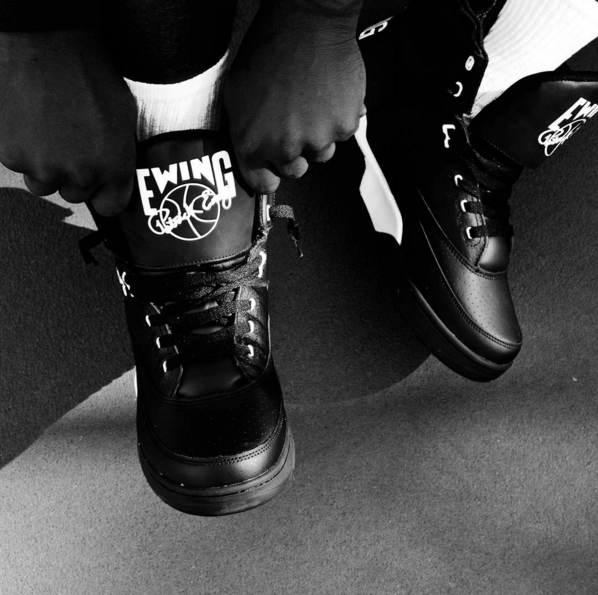 ewing 33 hi black/white leather 2