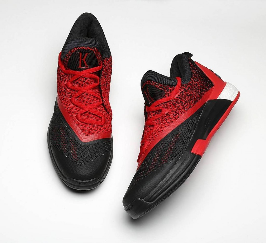 Adidas crazylight boost low 2016 bred black red mens basketball shoes - 12825745_1677349252531499_129015172_n