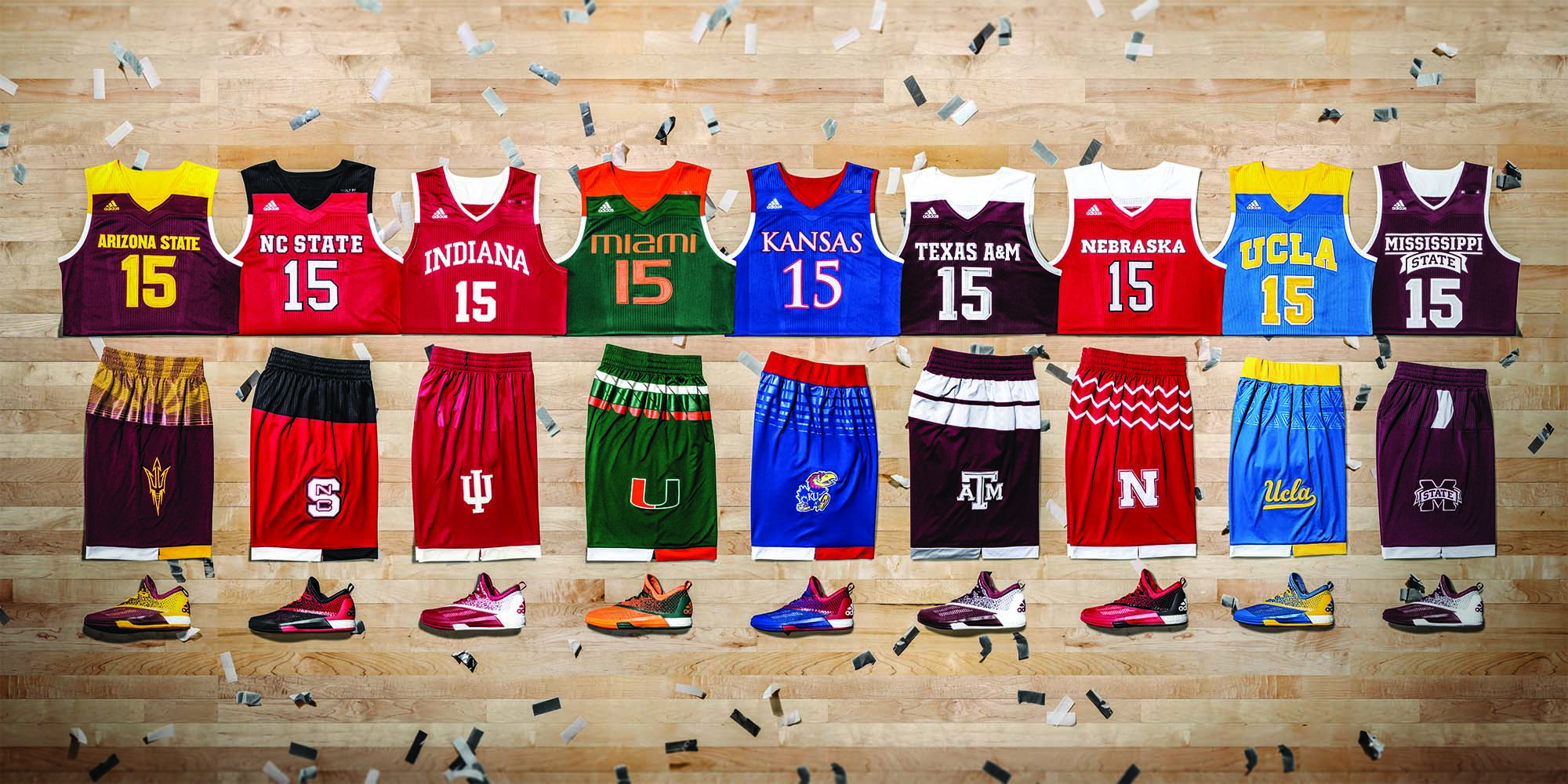 2017 March Madness Uniforms Revealed