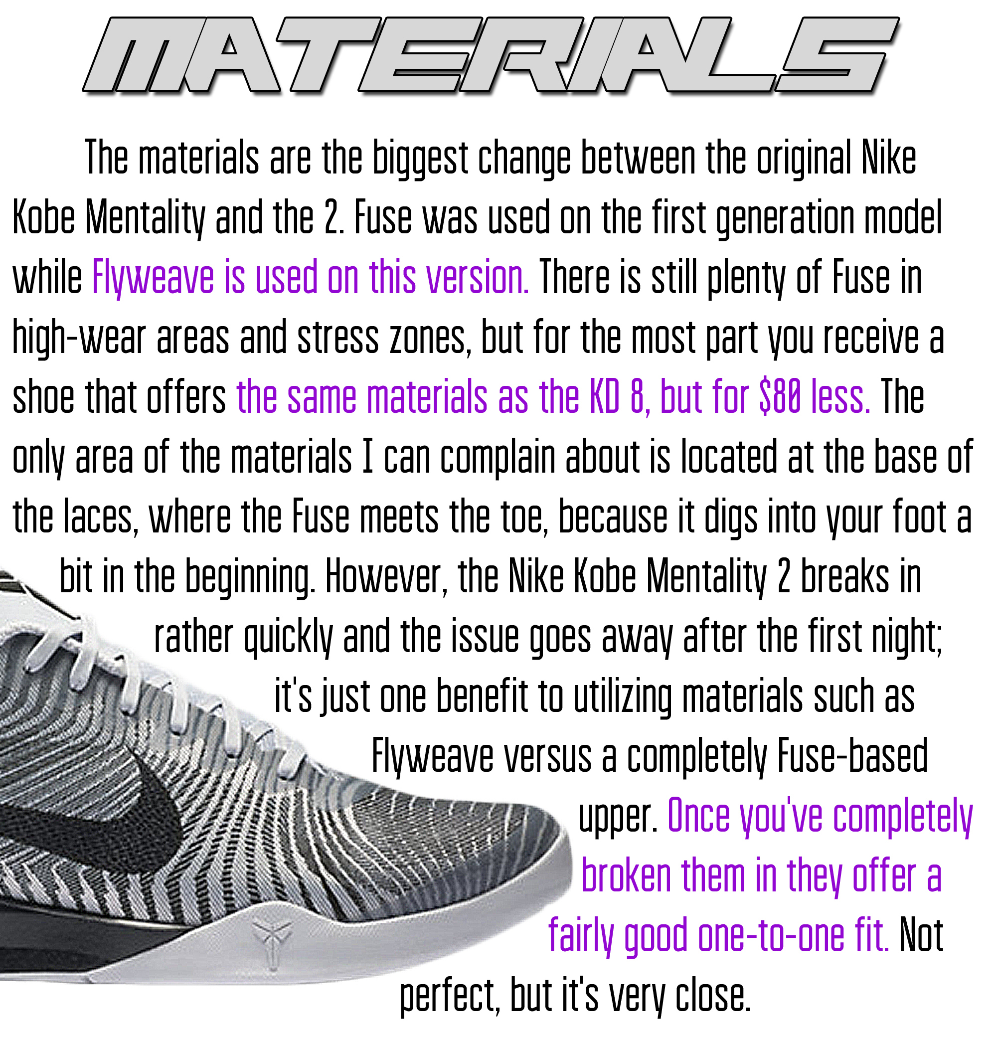 Mentality 2 - Materials