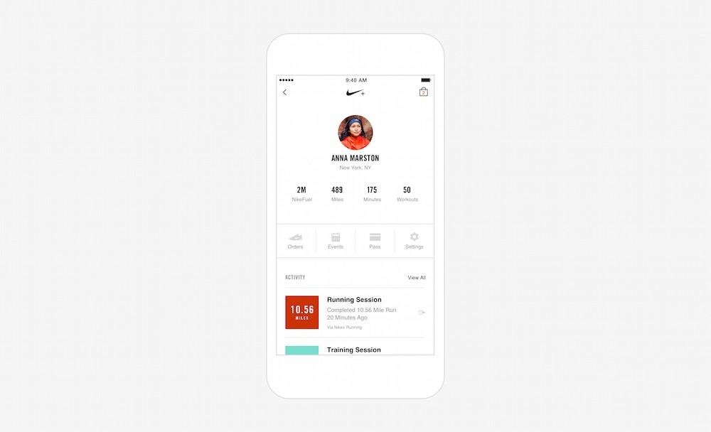 Nike+ App 5