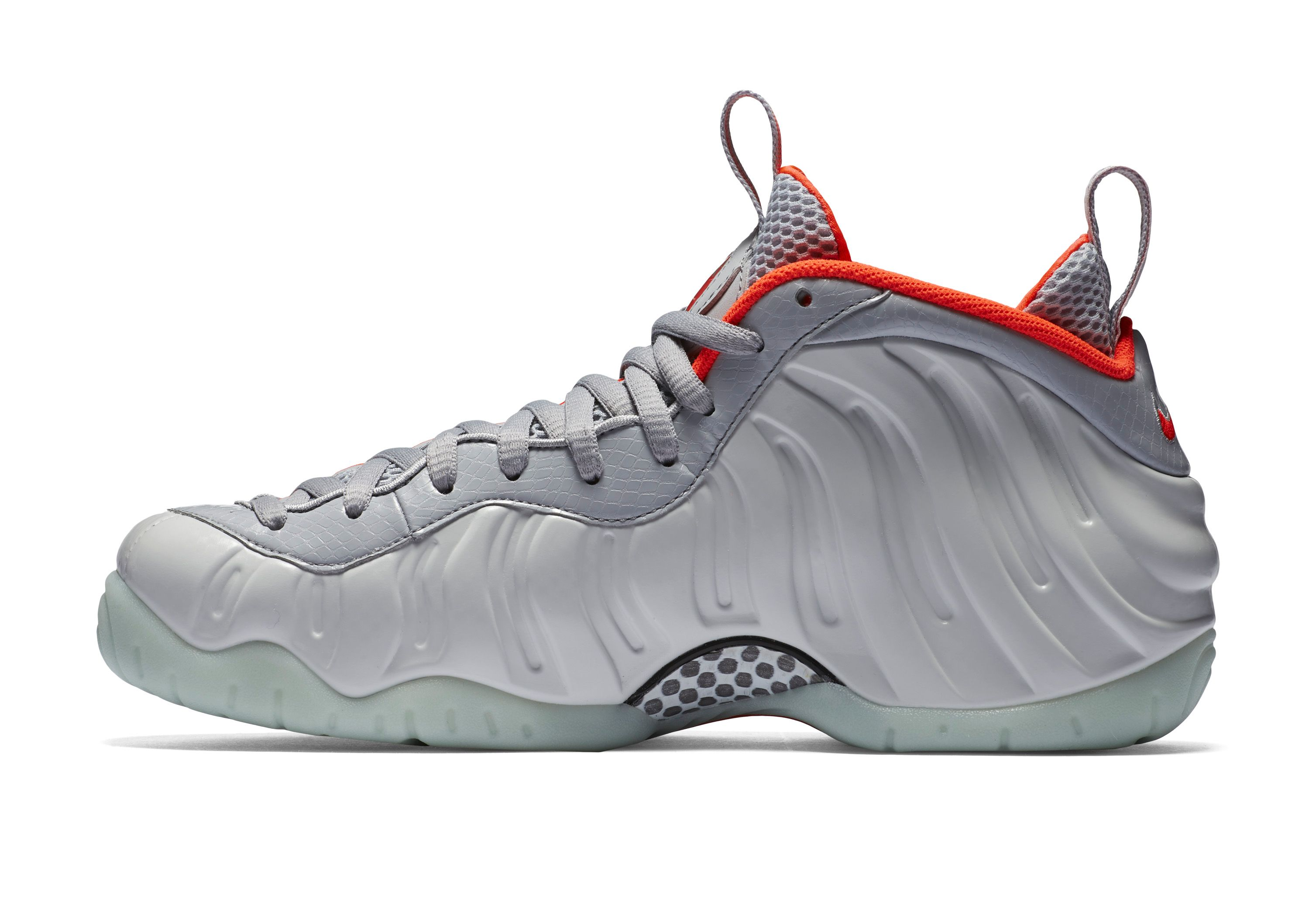 Nike Foamposite Pro Pure Platinum Yeezy medial