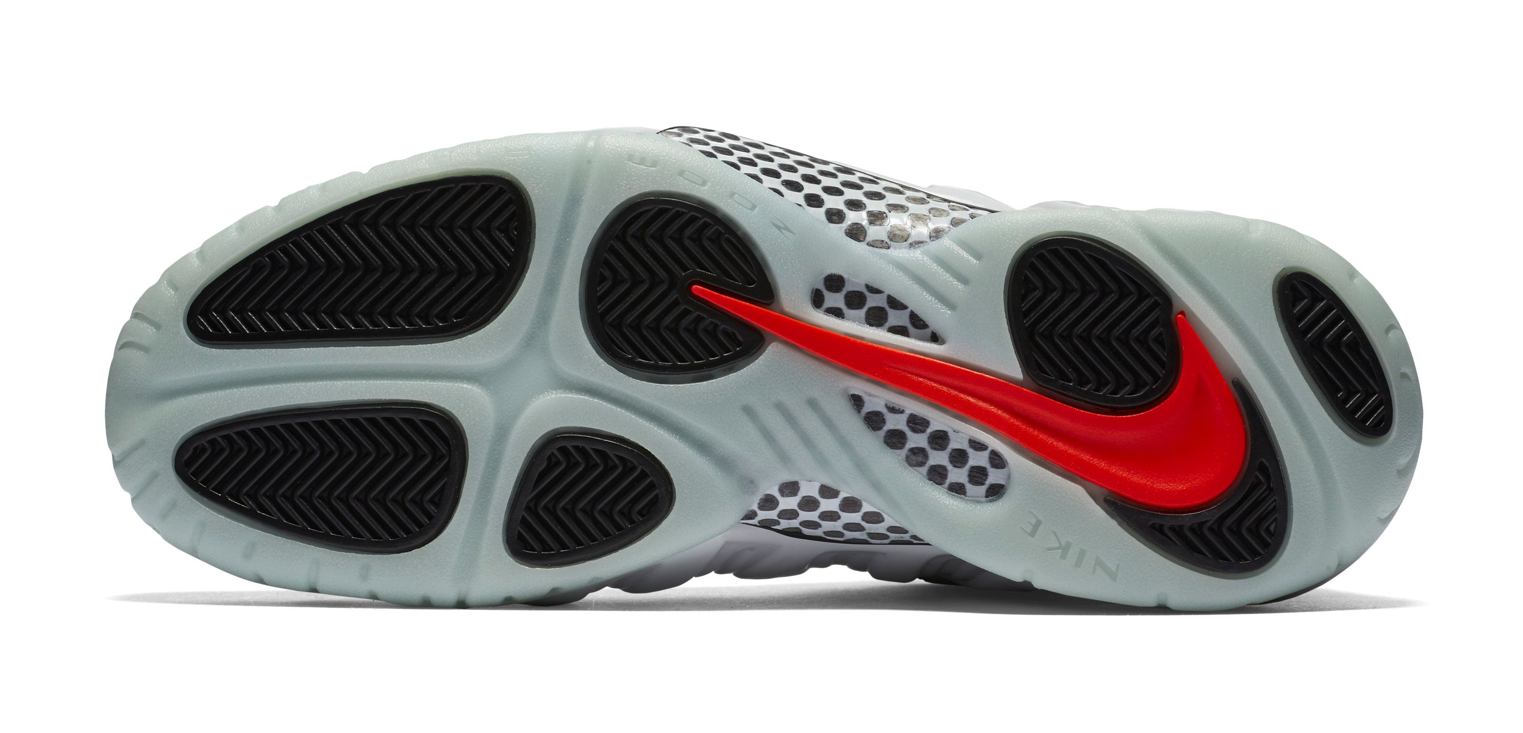 Nike Foamposite Pro Pure Platinum Yeezy outsole