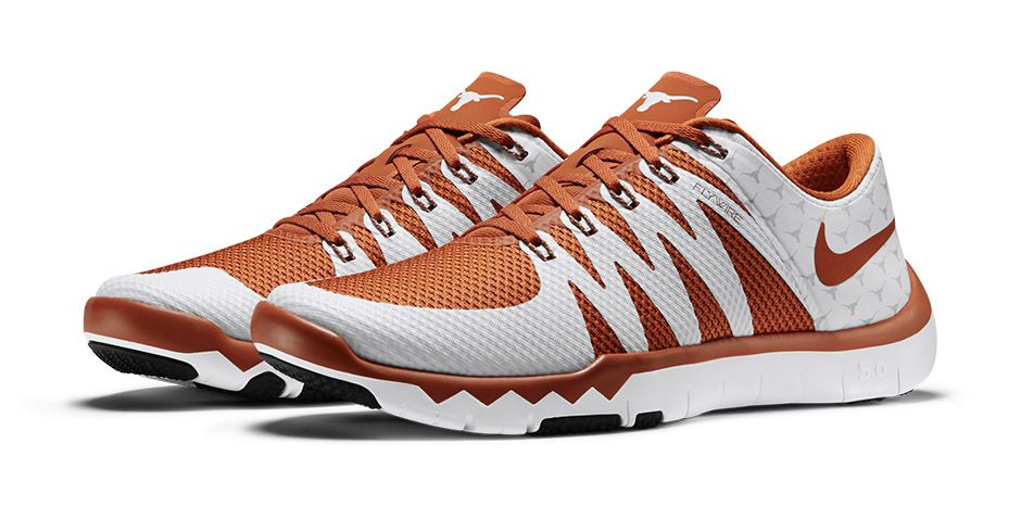 Oklahoma Sooners: Nikestore | Eastbay Nike Free Trainer 5.0 V6 'March  Madness Collection' texas longhorns