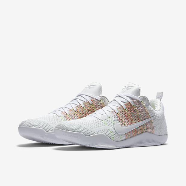 quality design d1a55 68bca Where to Cop the Multicolor Flyknit Nike Kobe 11 'White ...