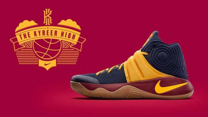 Nike Kyrie 2 Kyreer high career 57 points
