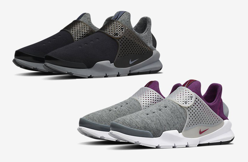 competitive price fe8c1 7fc36 Two New Colorways of the NikeLab Sock Dart Tech Fleece Have ...
