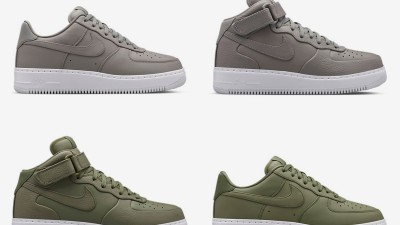 nikelab air force 1 olive green