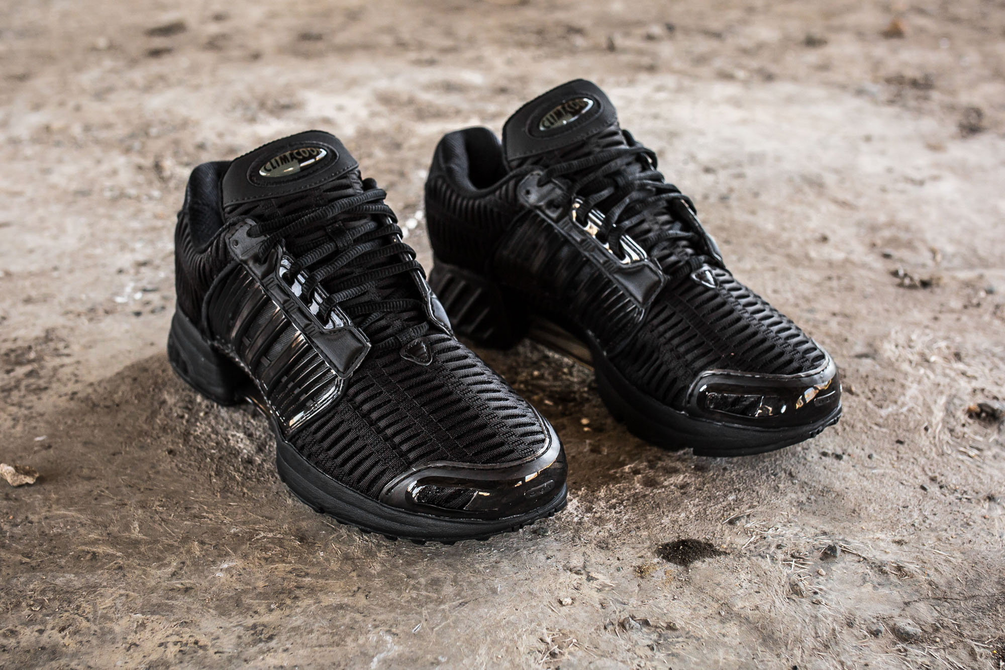 Adidas Climacool Black On Feet