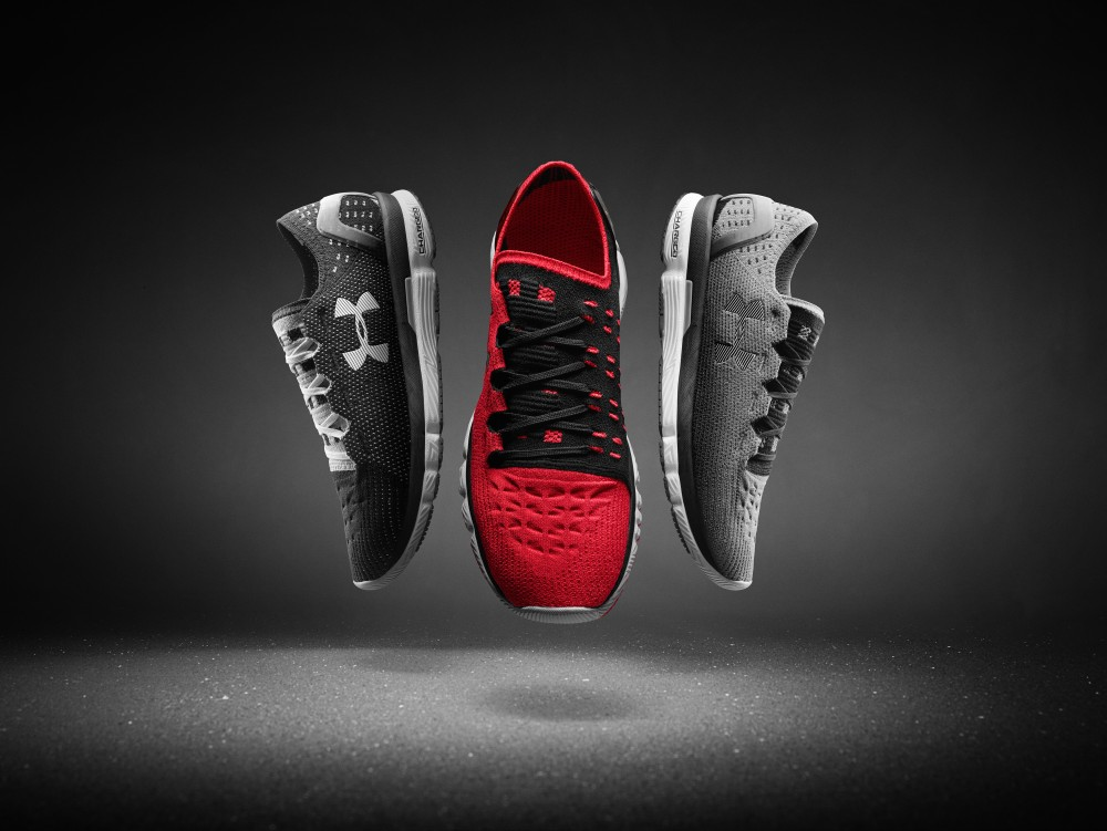 Red Under Armour Shoes Women