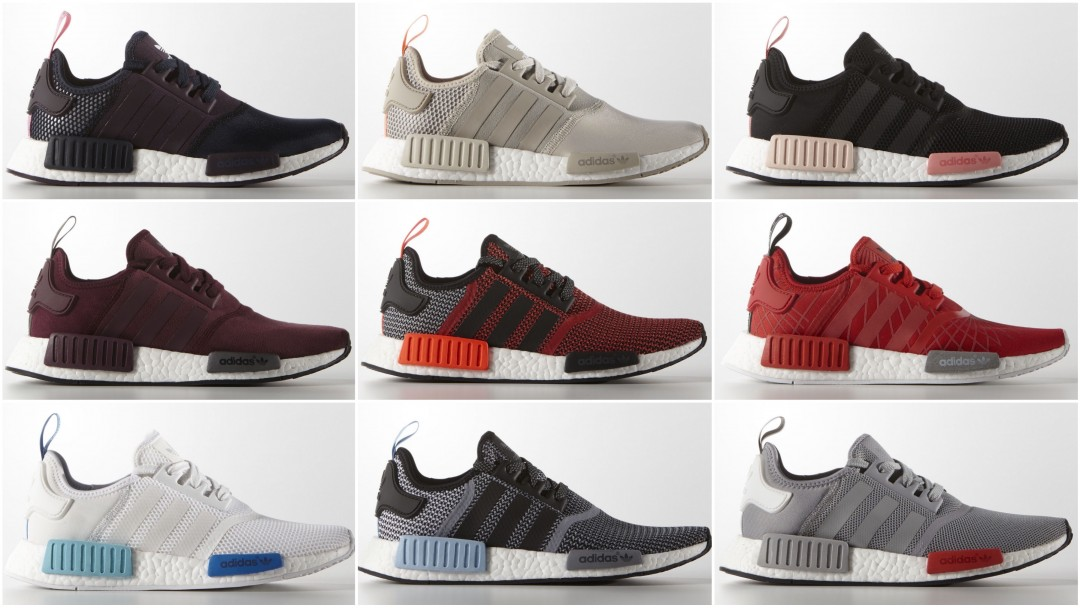Adidas Nmd R1 Colors