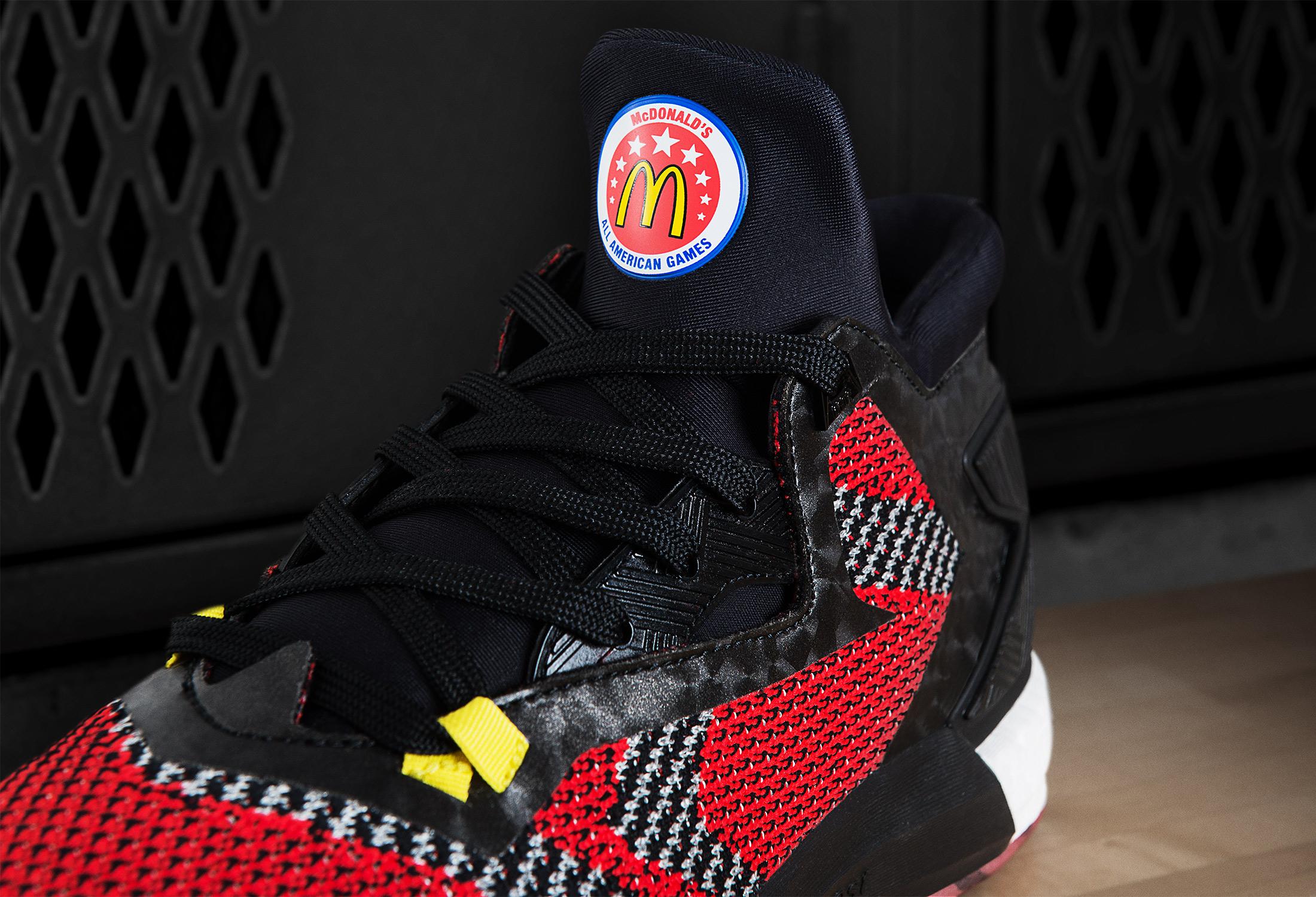 timeless design 1650d 00b8b ... Rose 5 Boost D Lillard 1 For The McDonalds All American adidas Unveils  Uniform Collection for 2016 McDonald¹s All American Games-3 ...