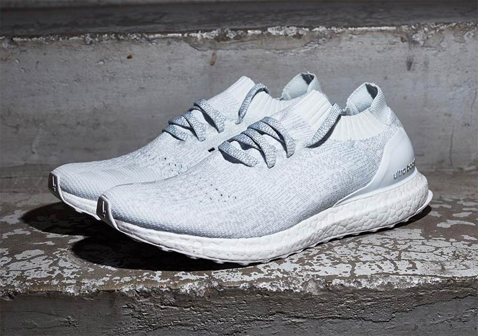 is there an all white adidas ultra boost uncaged. Black Bedroom Furniture Sets. Home Design Ideas