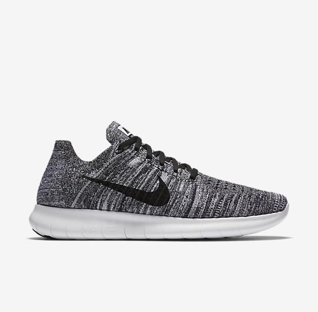 Nike Free Run Flyknit Oreo