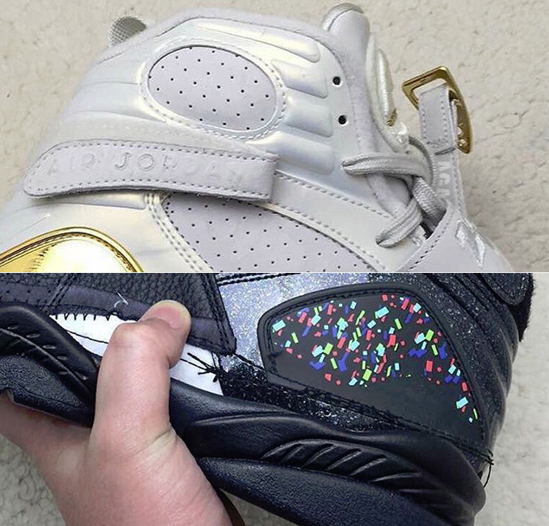 timeless design e39e4 0bb50 A Glimpse at the Upcoming Air Jordan 8 Champagne and Cigar ...