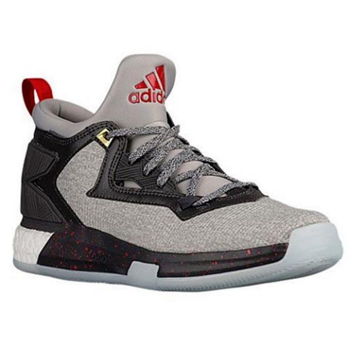 adidas basketball shoes damian lillard. Adidas D Lillard 2 Black Gray Red Basketball Shoes · Damian