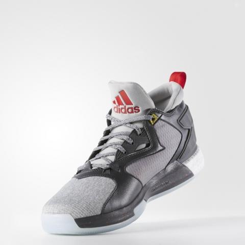 An Official Look at the adidas D Lillard 2.0 in Medium Grey 2
