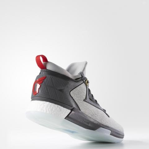 An Official Look at the adidas D Lillard 2.0 in Medium Grey 3