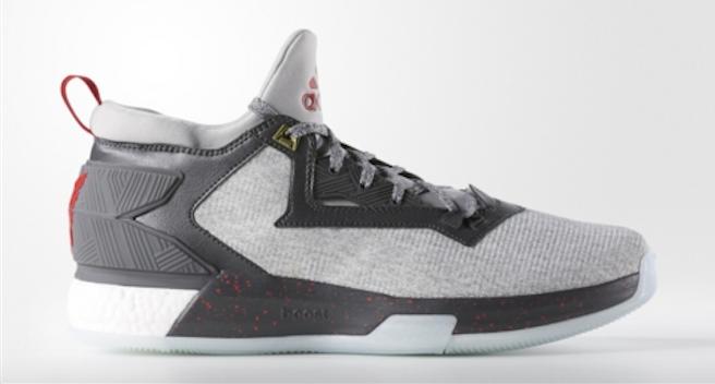 An Official Look at the adidas D Lillard 2.0 in Medium Grey Main