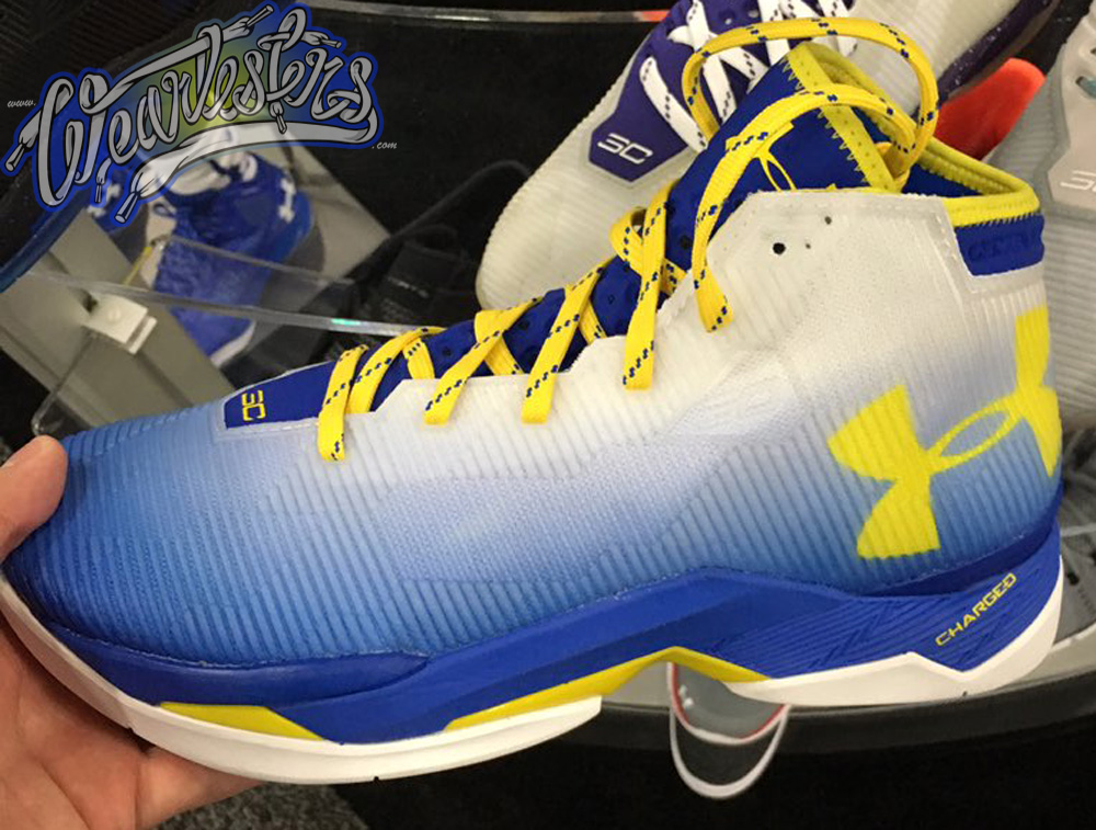 reputable site 440bd 57d9b Get a First Look at the Under Armour Curry 2.5 'Dub Nation ...