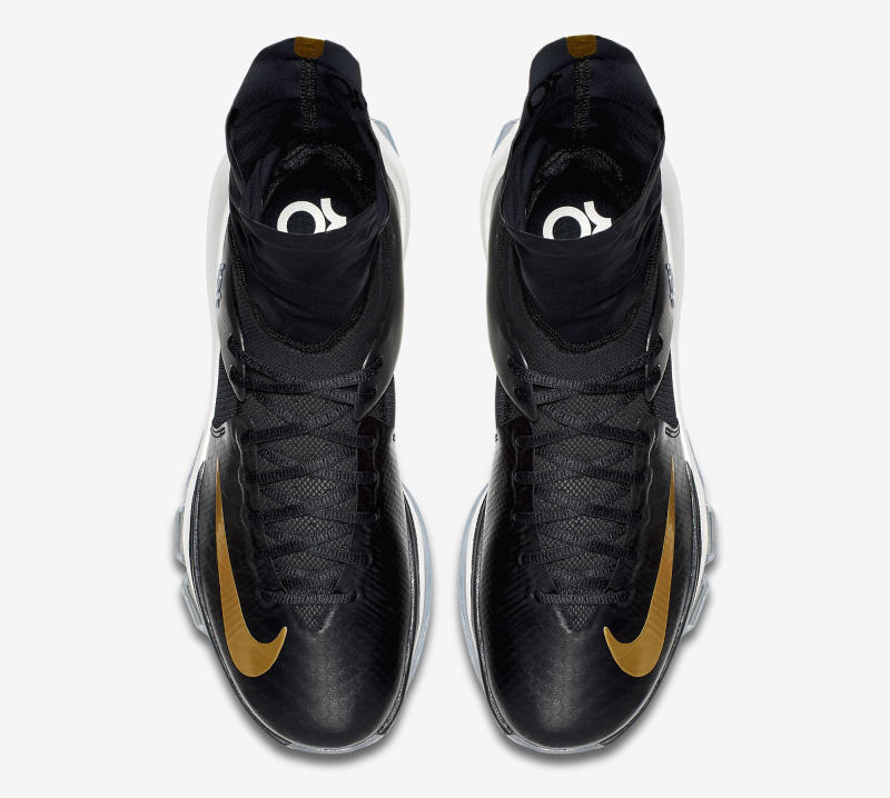 ... Here's an Official Look at the Nike KD 8 Elite in Black & Gold-3 ...