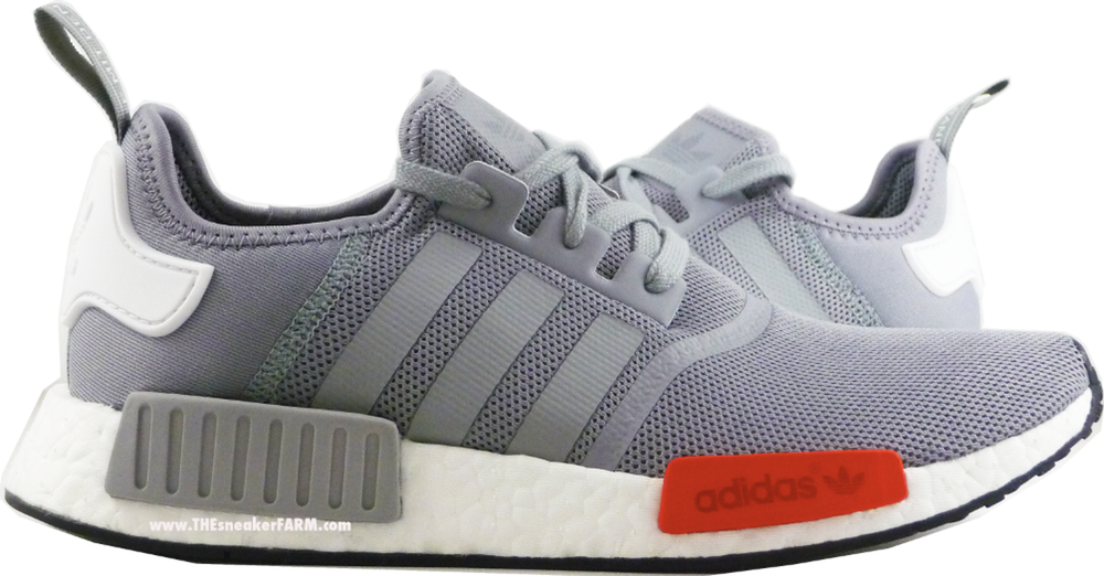 online retailer 75ad9 e1529 You Can Grab the adidas NMD Runner in Grey/White - Red Now ...