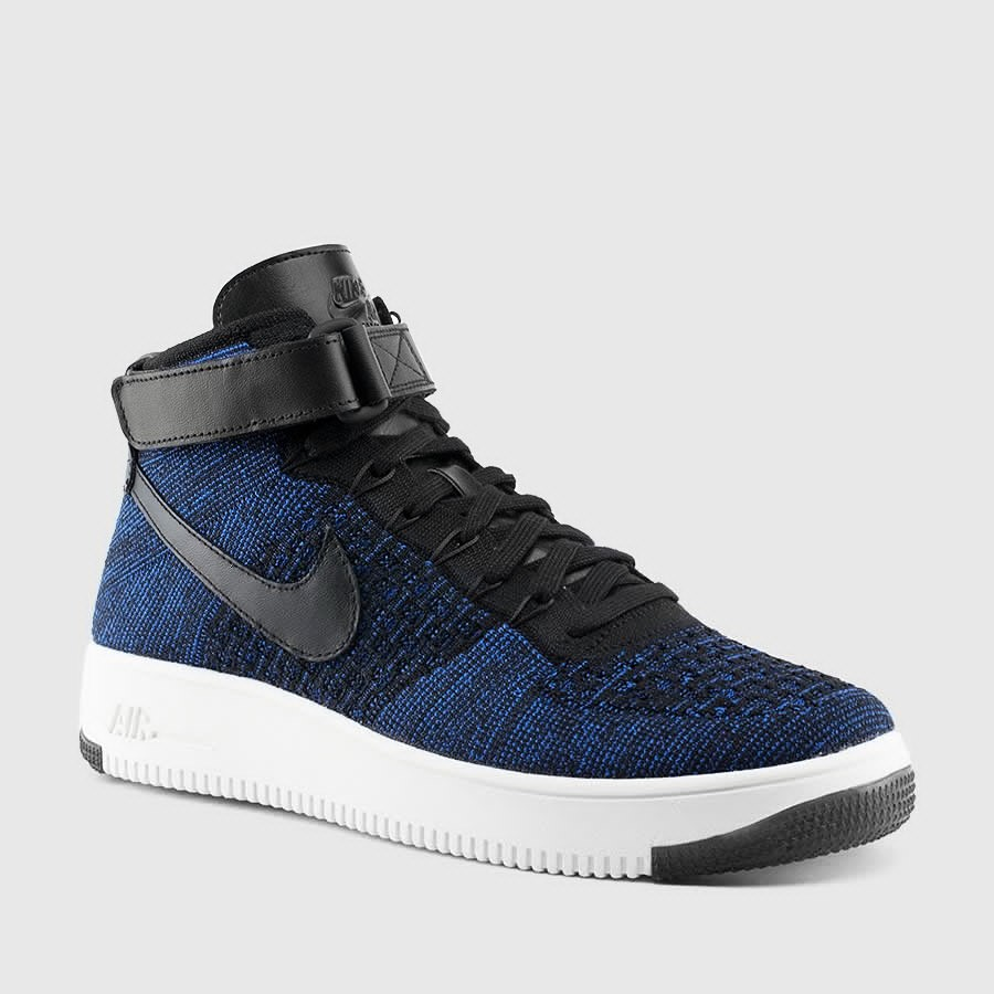 a new nike air force 1 ultra flyknit has dropped in deep royal blue weartesters. Black Bedroom Furniture Sets. Home Design Ideas