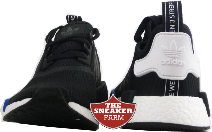 lzibbo You Can Grab the adidas NMD Runner in Black/ White - Royal Now