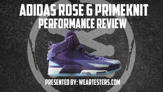 adidas D Rose 6 PrimeKnit Performance Review