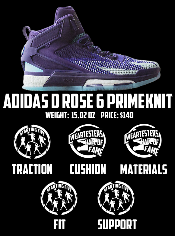 adidas rose 5 weight